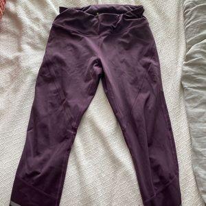 Purple zella athletic leggings